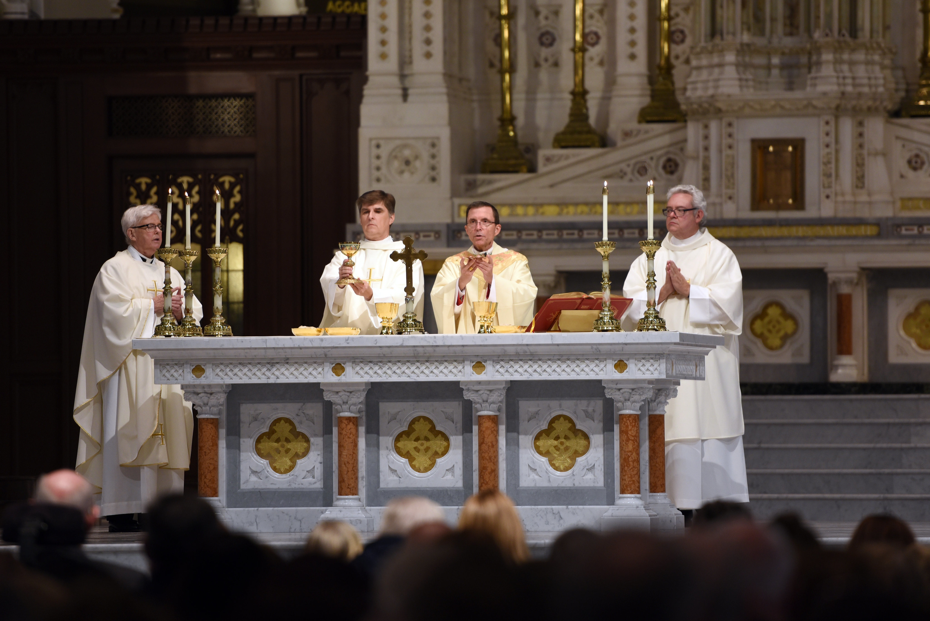 Bishop Reed Celebrating Mass