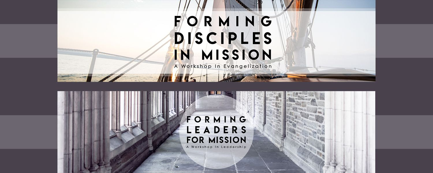 Forming Disciples in Mission and Forming Leaders for Mission website banner