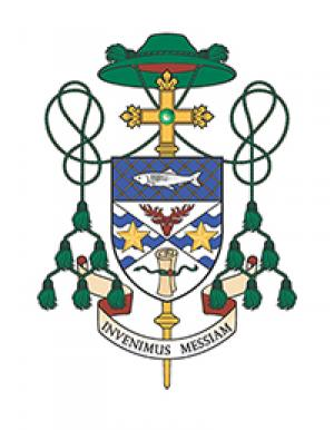 Coat of Arms for Bishop Mark O'Connell
