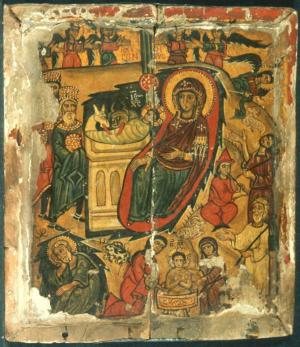 The Sinai Icon Collection image of the Nativity